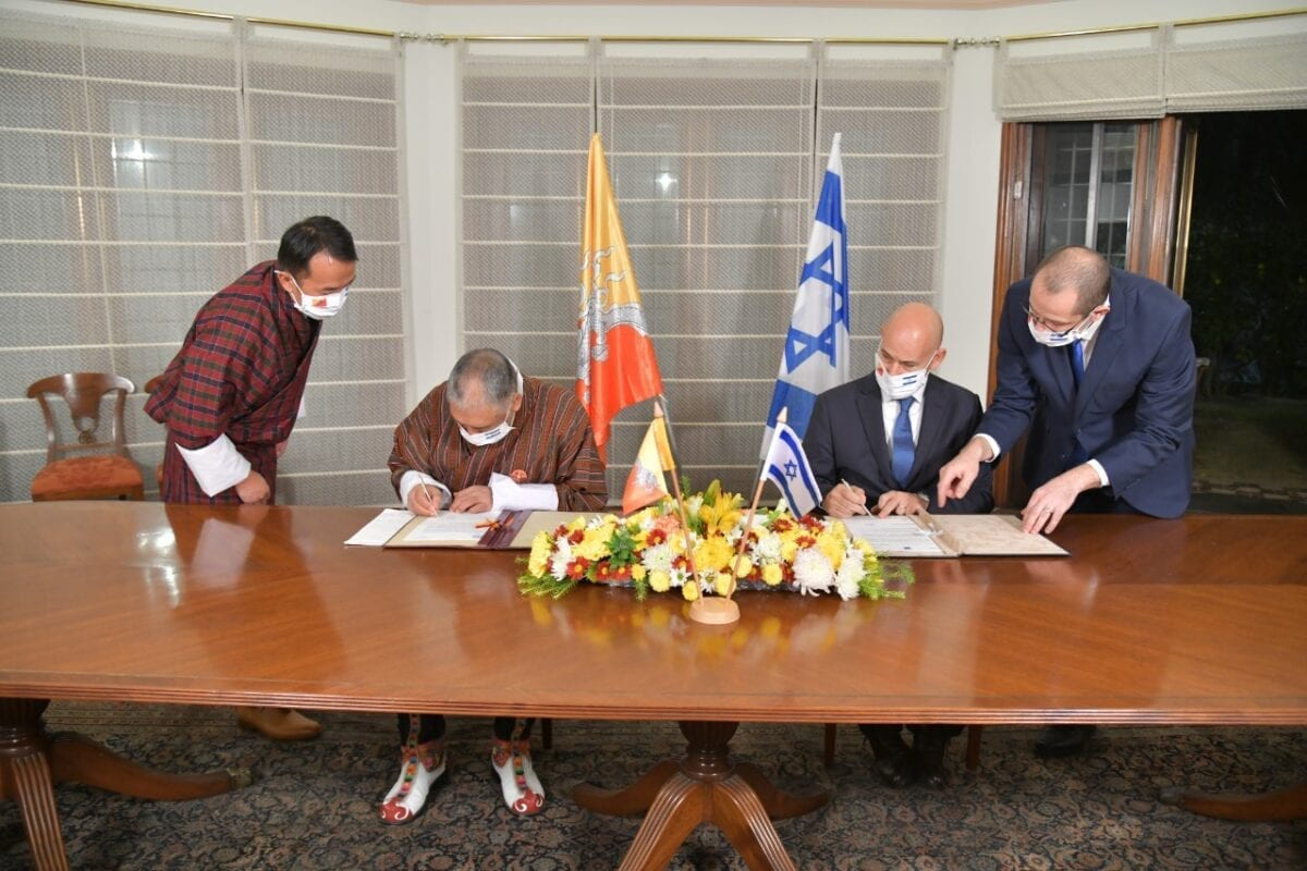 Israel, Bhutan establish diplomatic relations