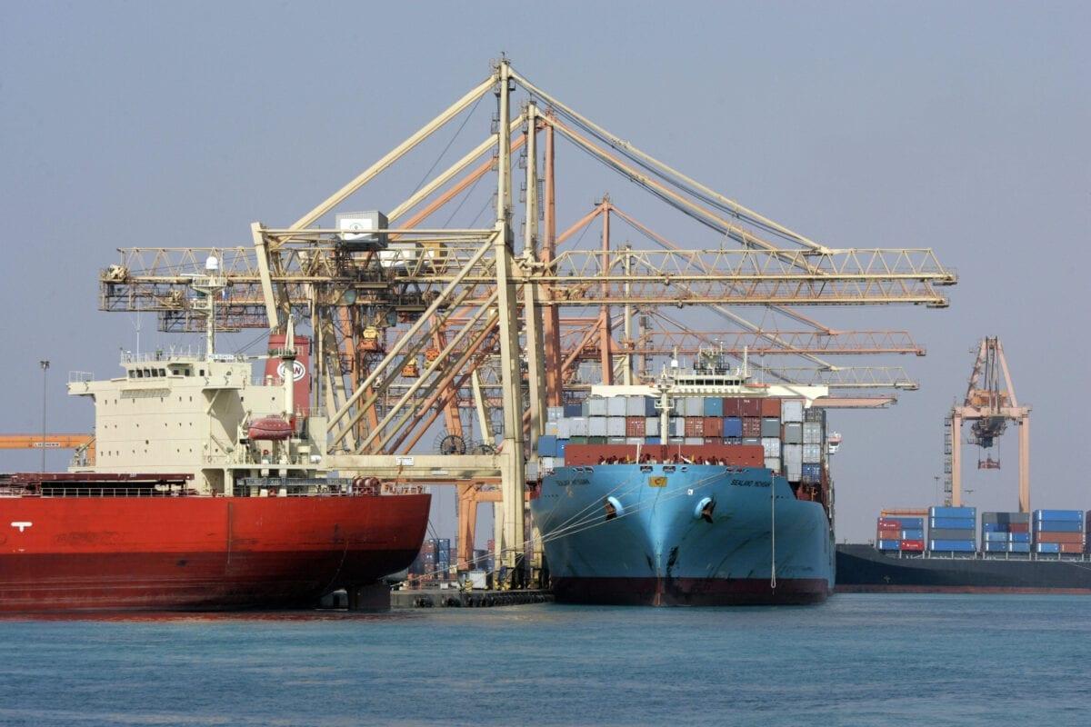 Oil tanker hit by 'external source' in Saudi Arabia