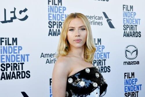 Scarlett Johansson in Santa Monica, California on 8 February 2020 [Amy Sussman/Getty Images]