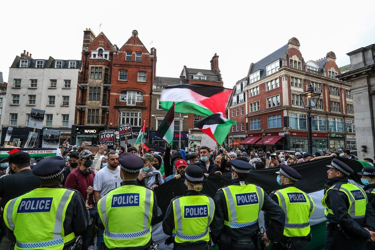 Progressive, but not on Palestine