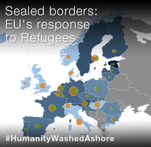Sealed borders: EU's response to #RefugeeCrisis